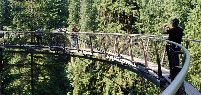 Capilano Suspension Bridge Instagram