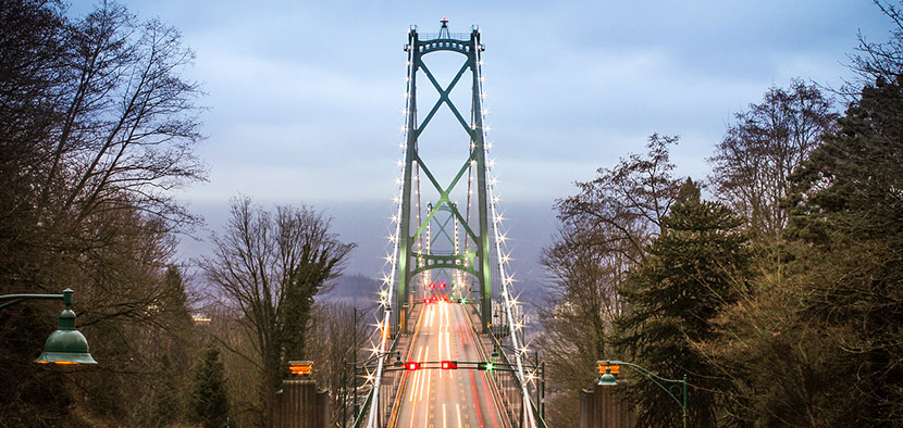 Lions Gate Bridge - Instagram